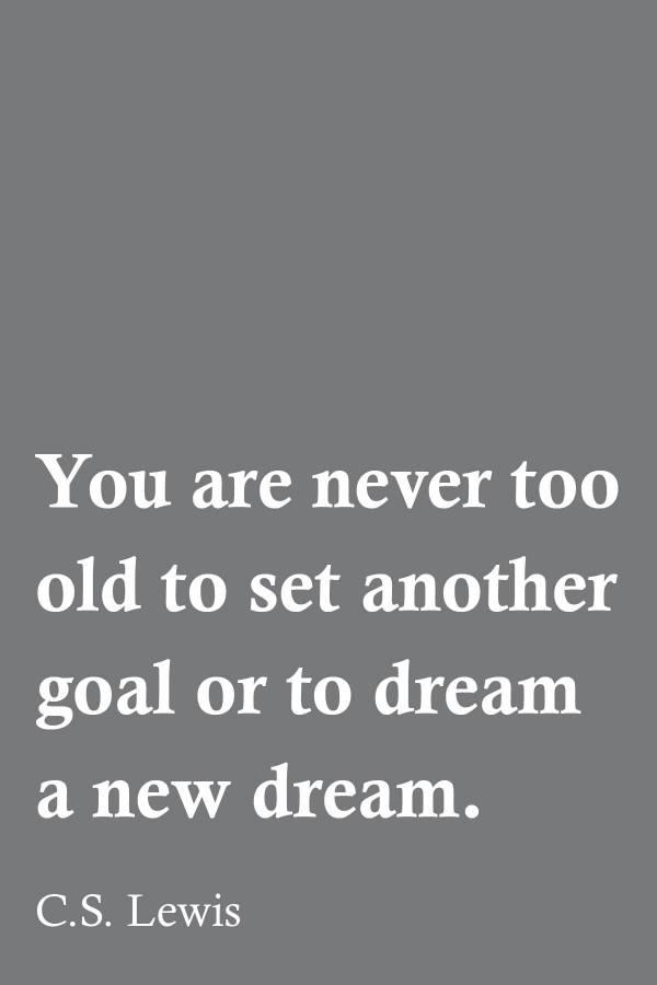 Set a New Goal